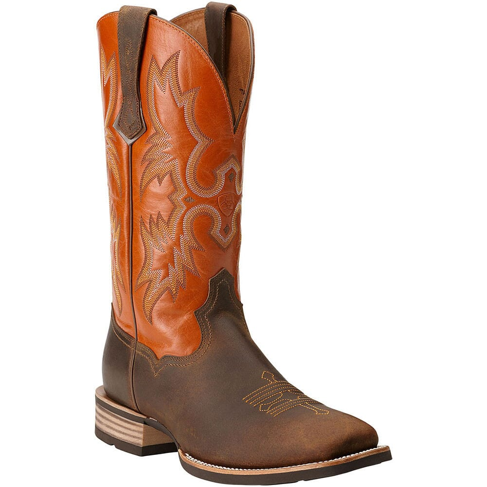 Image for Ariat Men's Tombstone Western Boots - Distressed Brown from bootbay