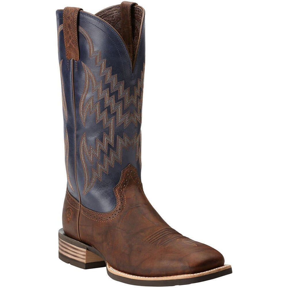 Image for Ariat Men's Tycoon Western Boots -  Bar Top/Arizona Sky from bootbay