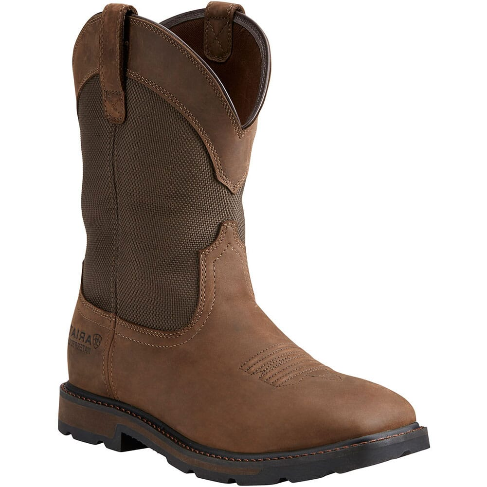 Image for Ariat Men's Groundbreaker Safety Boots - Brown from bootbay