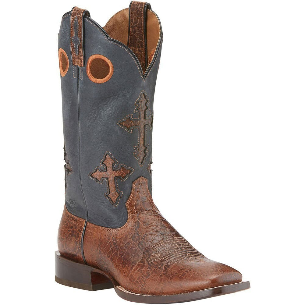 Image for Ariat Men's Ranchero Western Boots - Black from bootbay