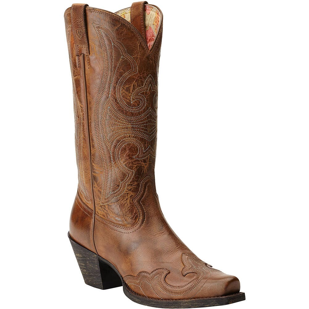 Image for Ariat Women's Round Up Western Boots - Sandstorm from elliottsboots