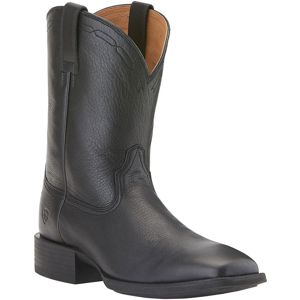 Image for Ariat Men's Heritage Western Ropers - Black from bootbay