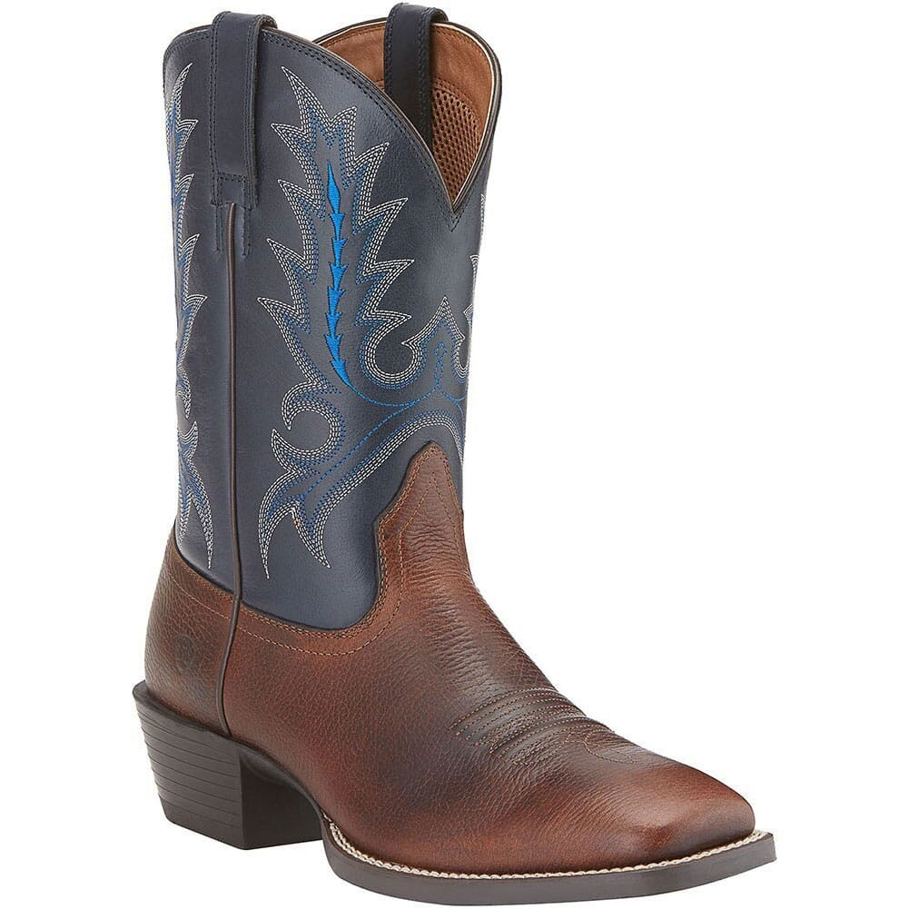 Image for Ariat Men's Sport Outfitter Western Boots - Brown/Blue from bootbay