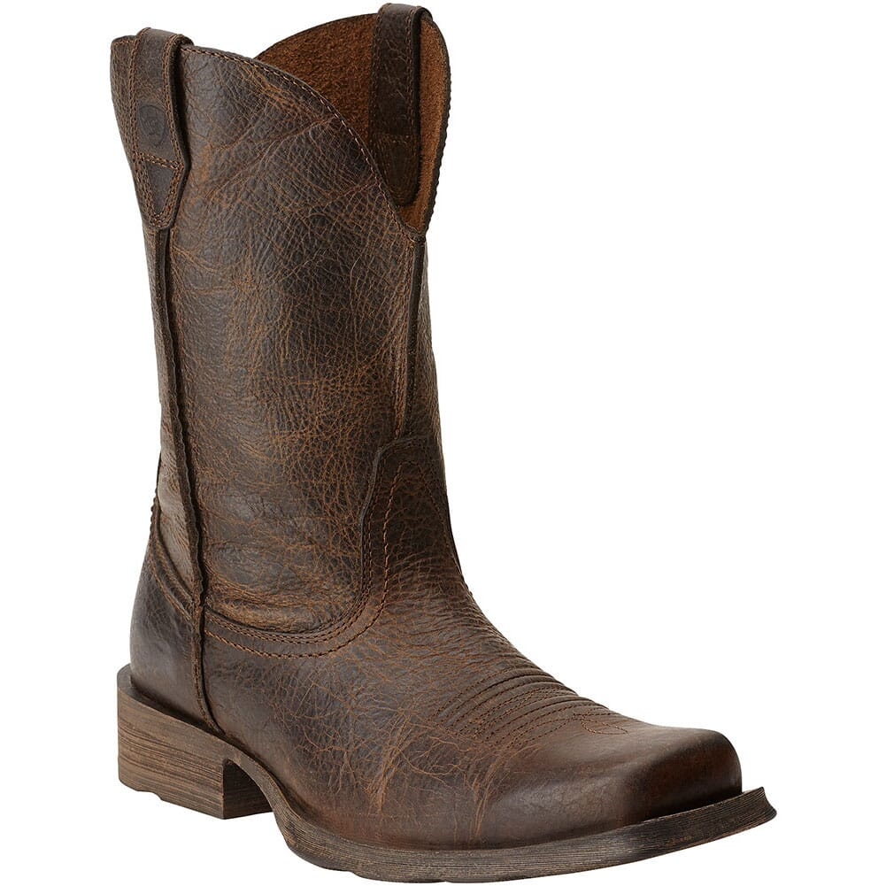 Image for Ariat Men's Rambler Western Boots - Wicker from bootbay