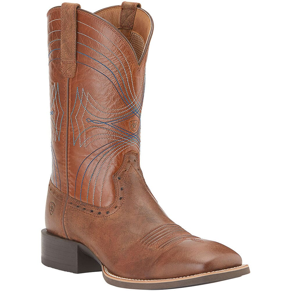 Image for Ariat Men's Sport Western Boots - Sandstorm/Coyote Brown from bootbay