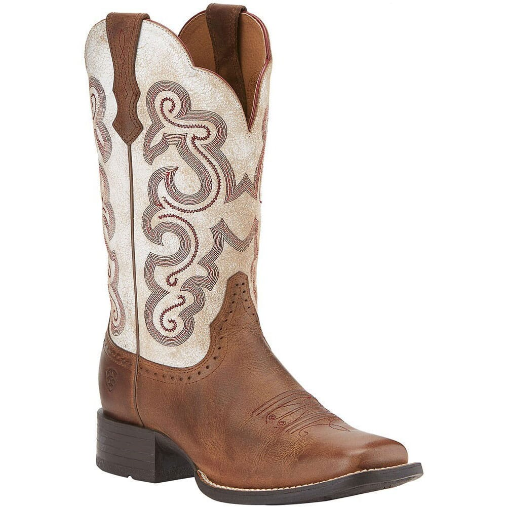 Image for Ariat Women's Quickdraw Western Boots - Sandstorm from elliottsboots