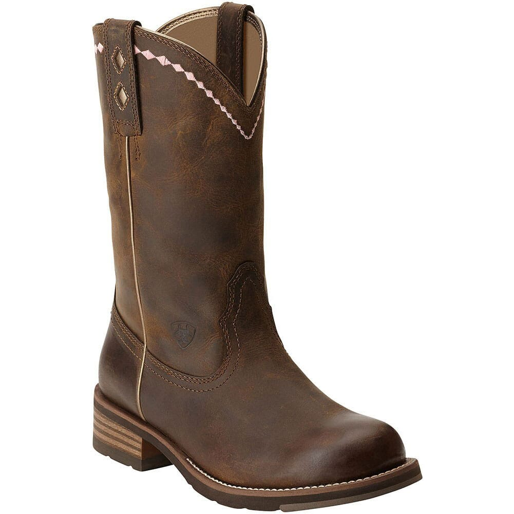 Image for Ariat Women's Unbridled Western Ropers - Brown from bootbay