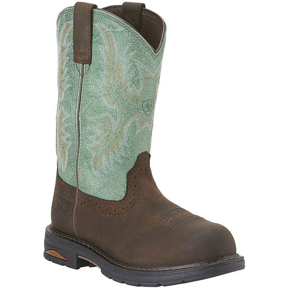 Image for Ariat Women's Tracey Pull on Safety Boots - Brown from elliottsboots