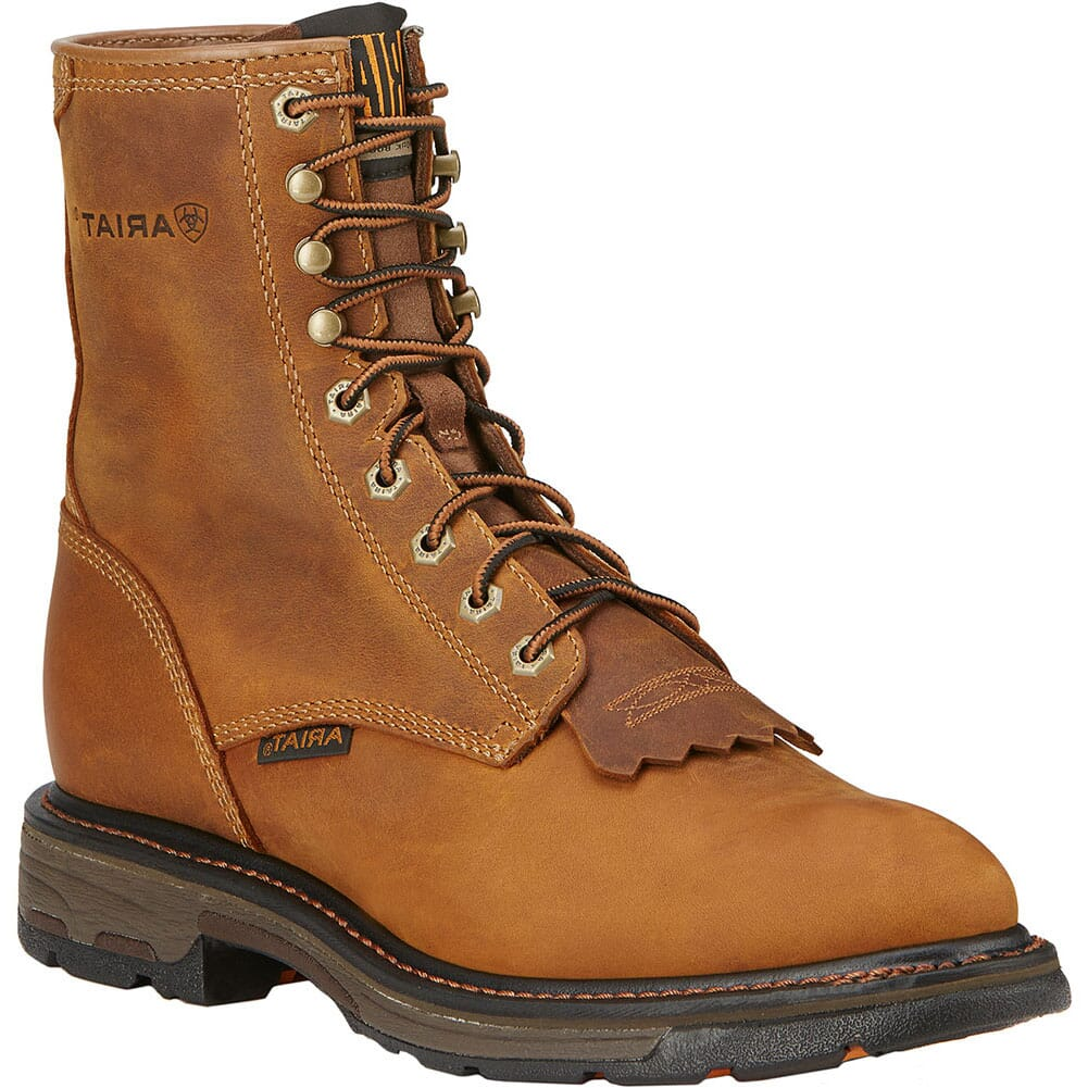 Image for Ariat Men's Workhog Work Boots - Golden Grizzly from bootbay