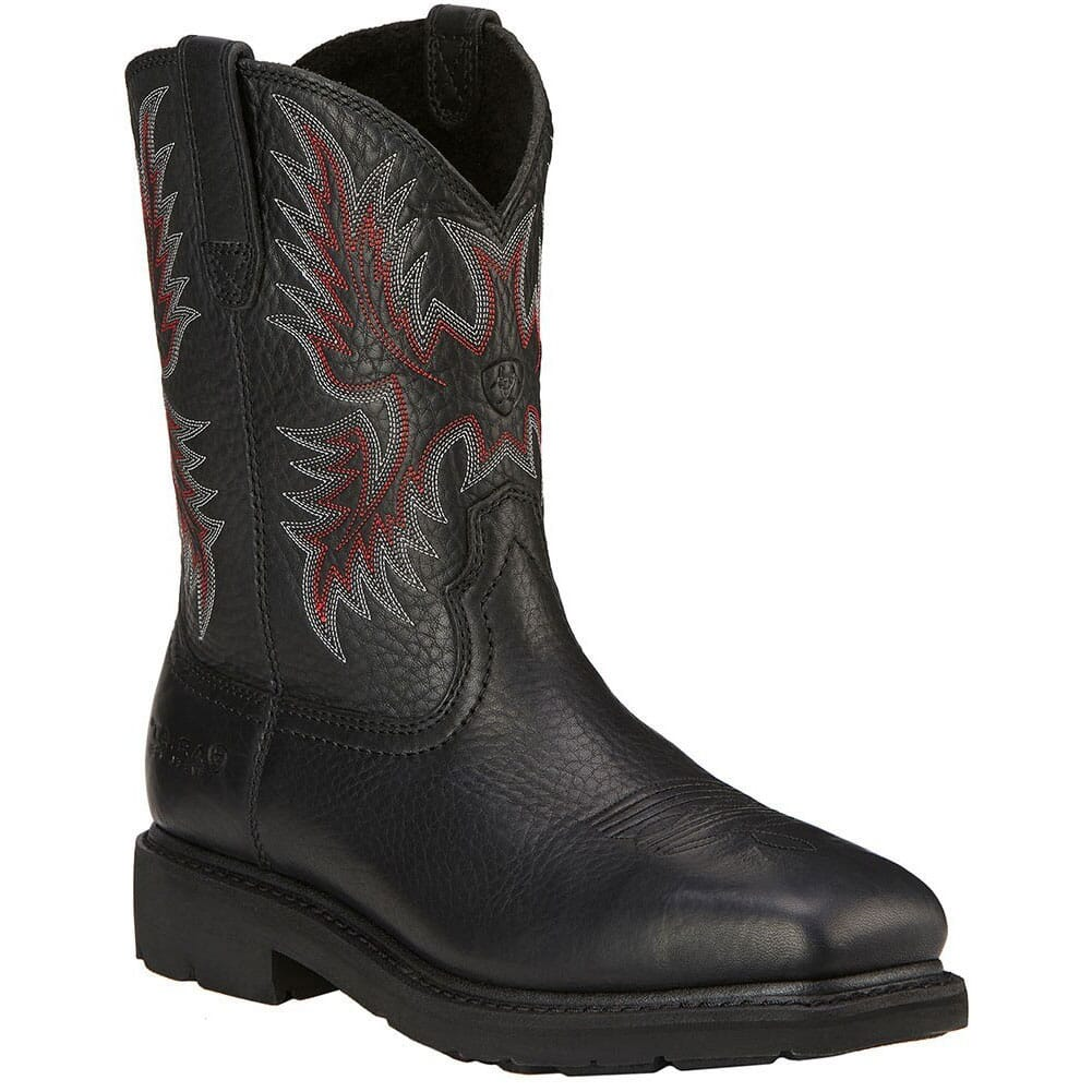 Image for Ariat Men's Sierra WP Safety Boots - Black from bootbay