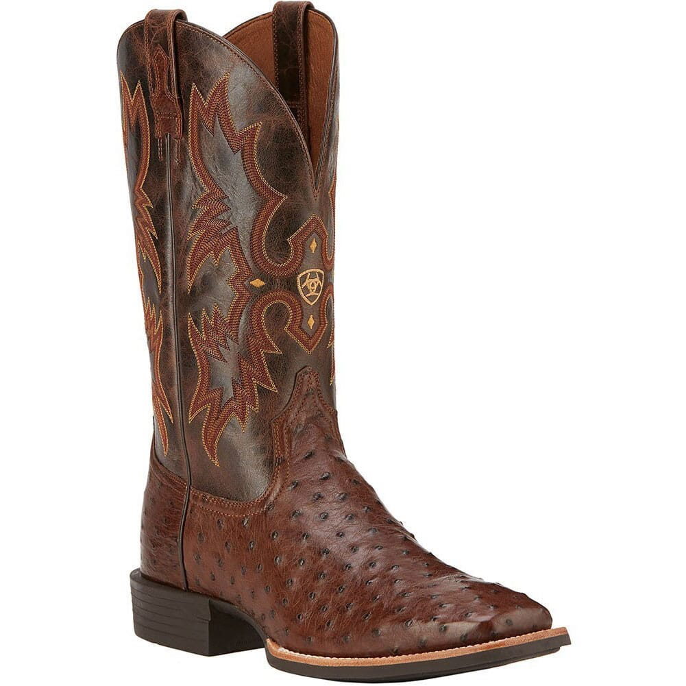 Image for Ariat Men's Quantum Classic Western Boots - Antique Tabac from bootbay