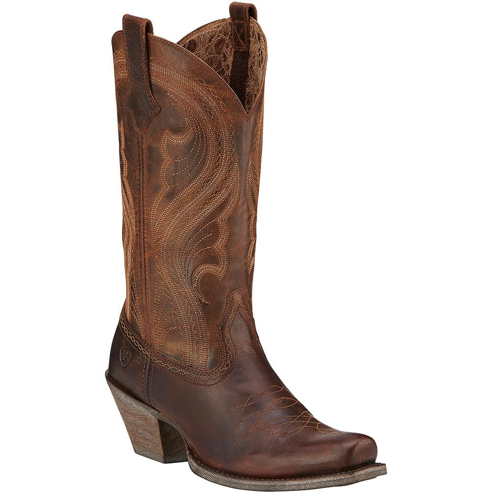 Image for Ariat Women's Lively Western Boots - Sassy Brown from elliottsboots
