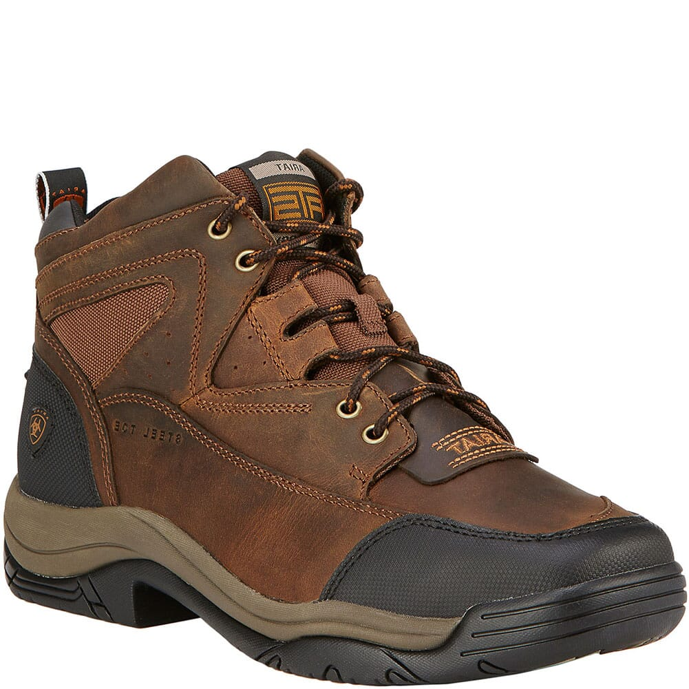 Image for Ariat Men's Terrain Wide Square Toe Safety Boots - Brown from bootbay