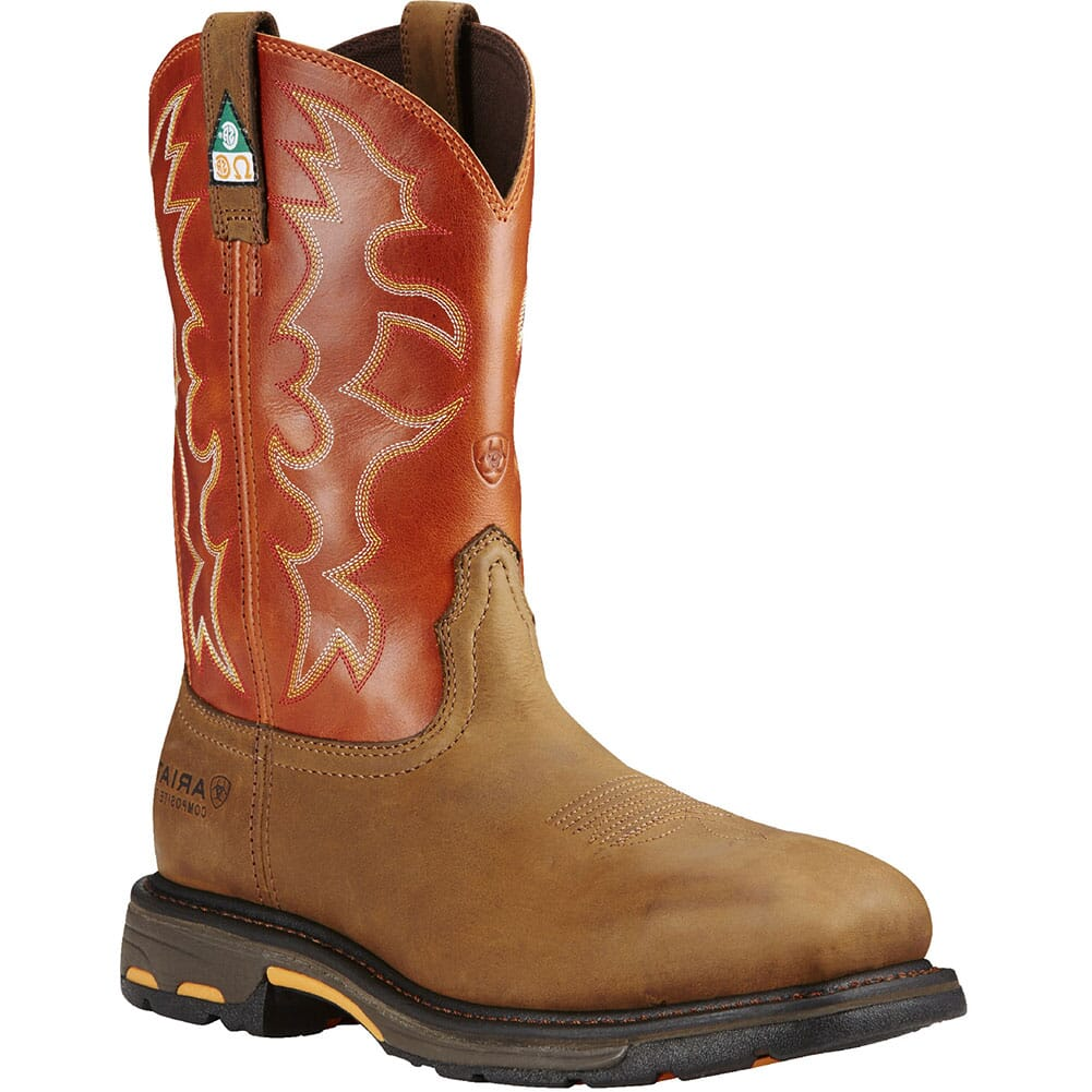 Image for Ariat Men's WorkHog CSA Safety Boots - Dark Earth from bootbay
