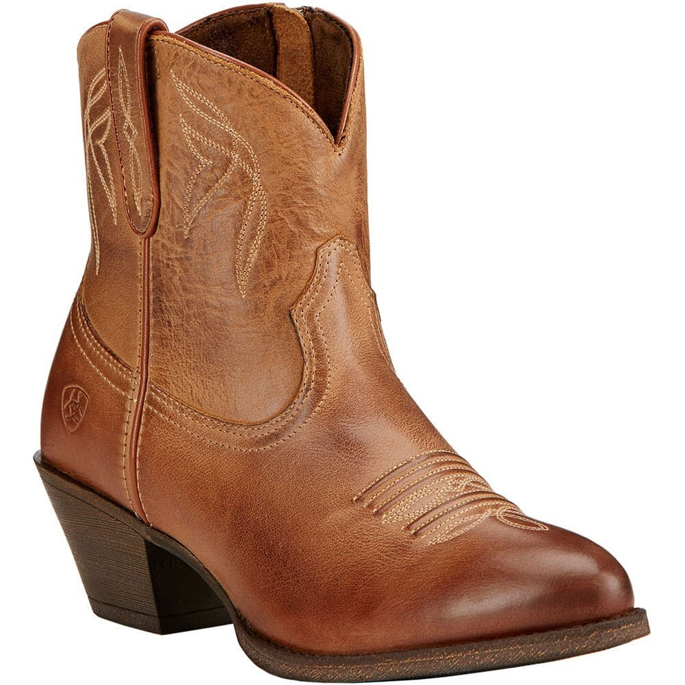 Image for Ariat Women's Darlin Western Boots - Burnt Sugar from elliottsboots