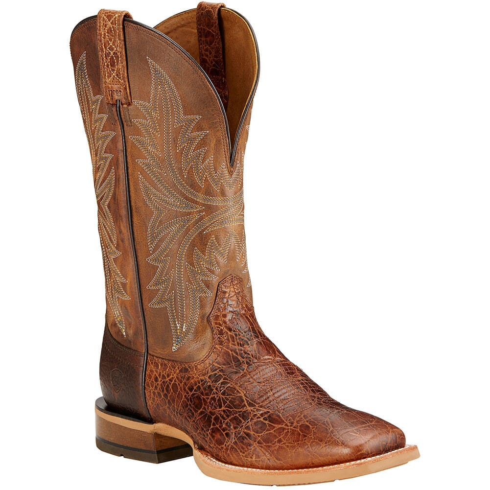 Image for Ariat Men's Cowhand Western Boots - Adobe Clay/Taupe from bootbay