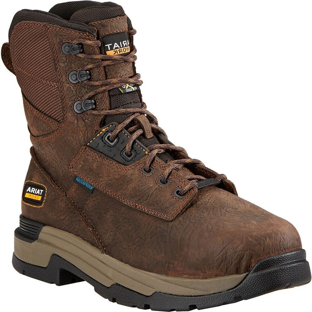 Image for Ariat Men's XRD Met WP Safety Boots - Brown from bootbay