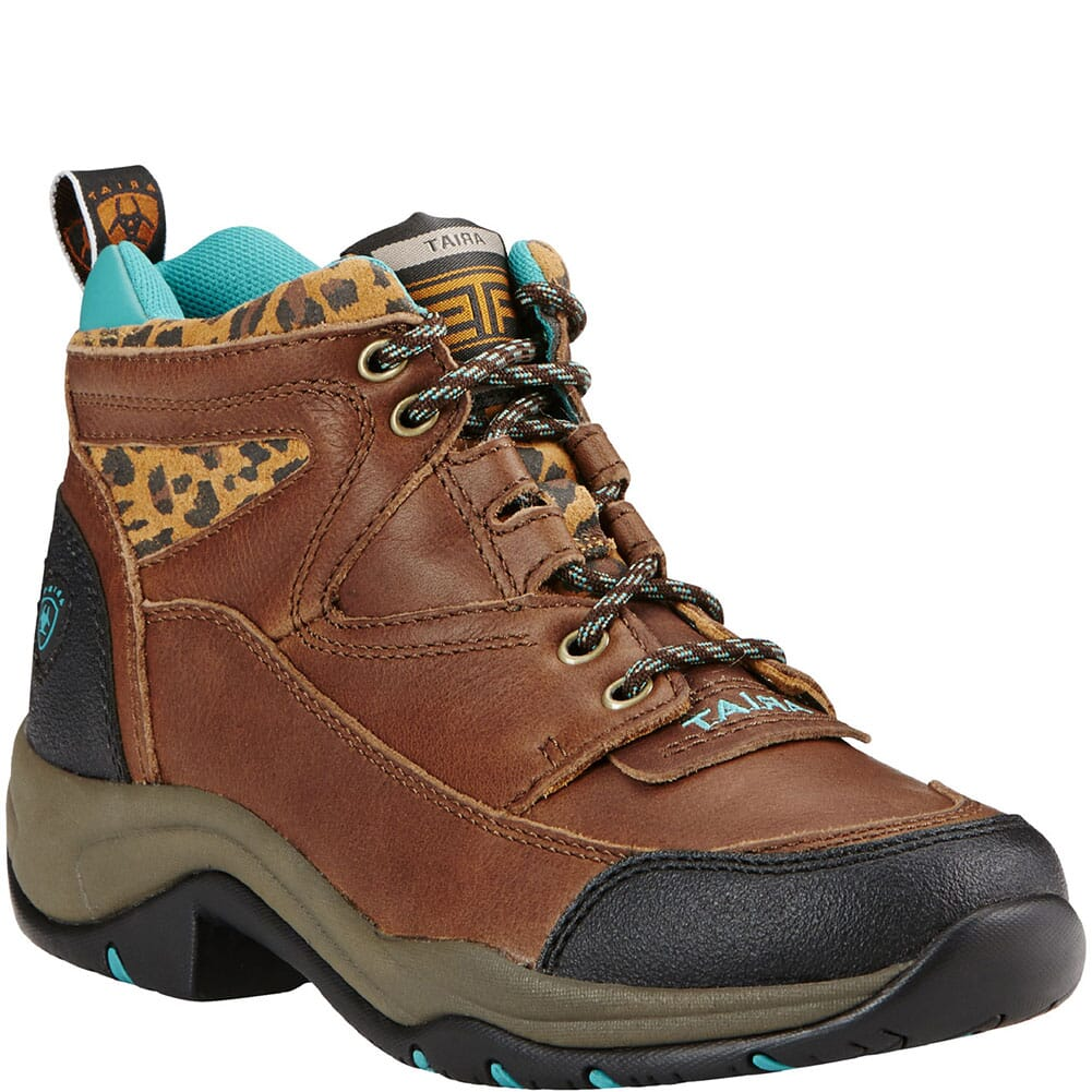 Image for Ariat Women's Terrain Hiking Boots - Tundra/Cheetah from bootbay