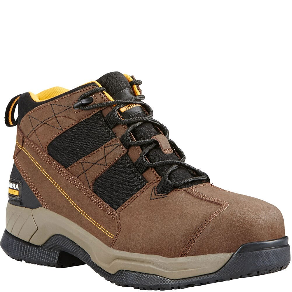 Image for Ariat Men's Contender Safety Boots - Brown from bootbay