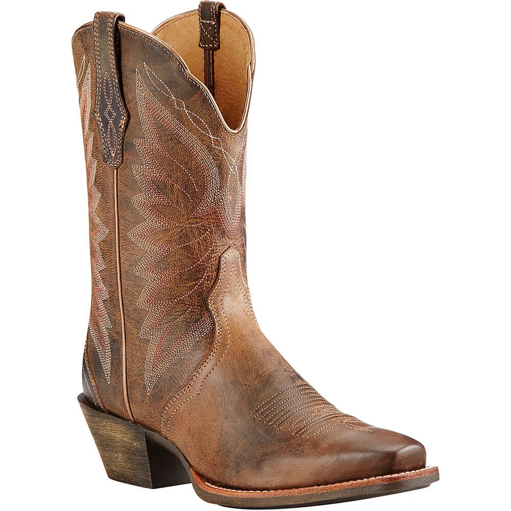 Image for Ariat Women's Autry Western Boots - Woodsmoke from bootbay