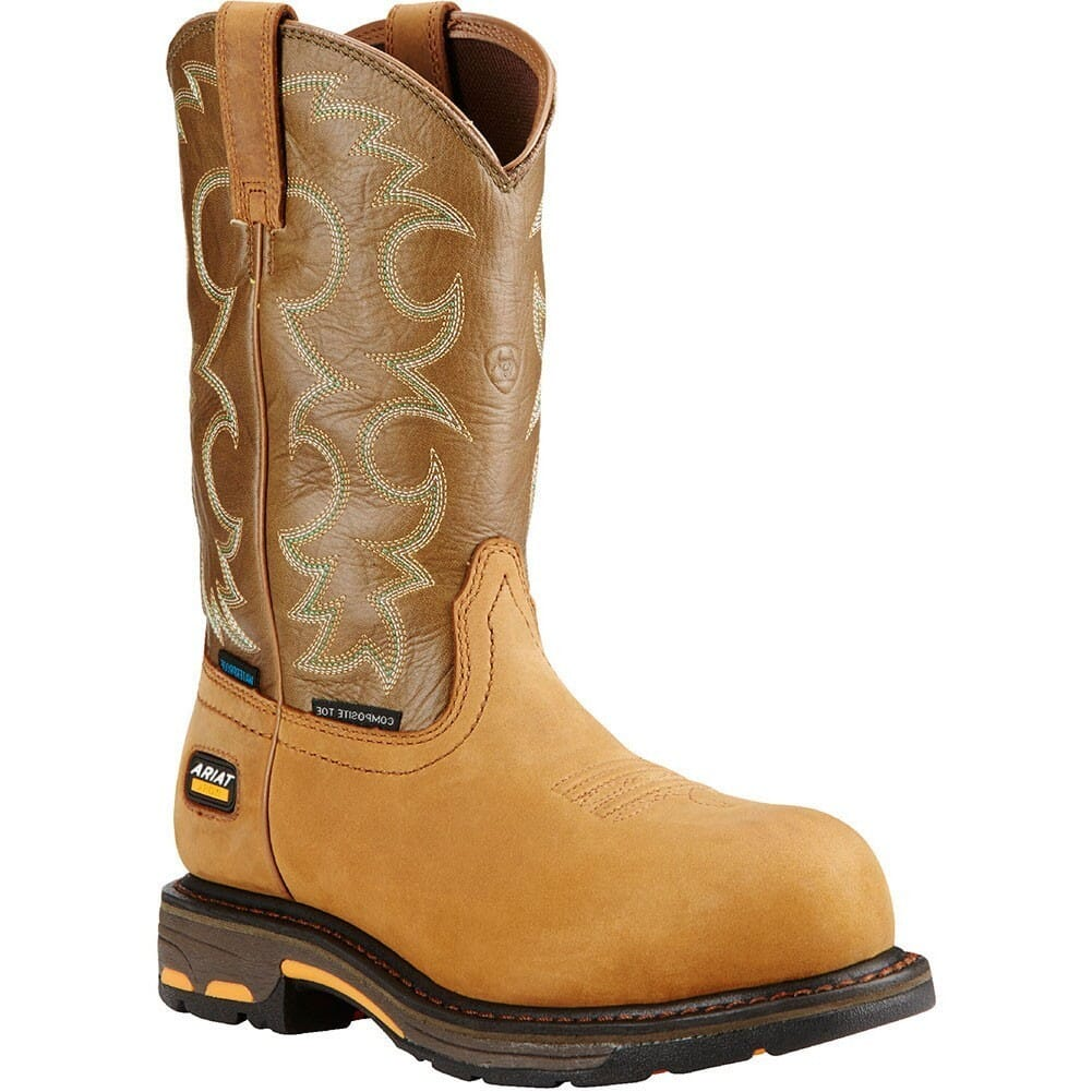 Image for Ariat Women's Workhog WP Safety Boots - Aged Bark from bootbay