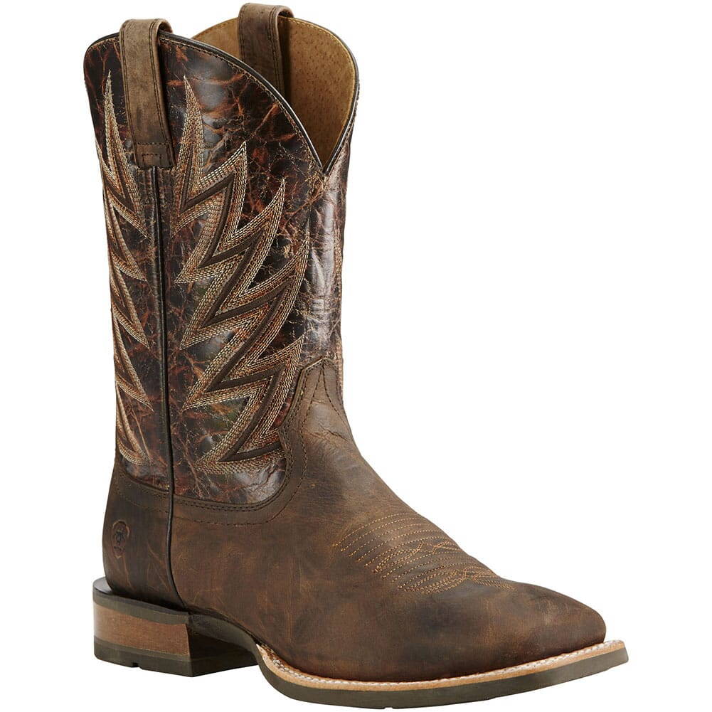 Image for Ariat Men's Challenger Western Boots - Branding Iron Brown from bootbay