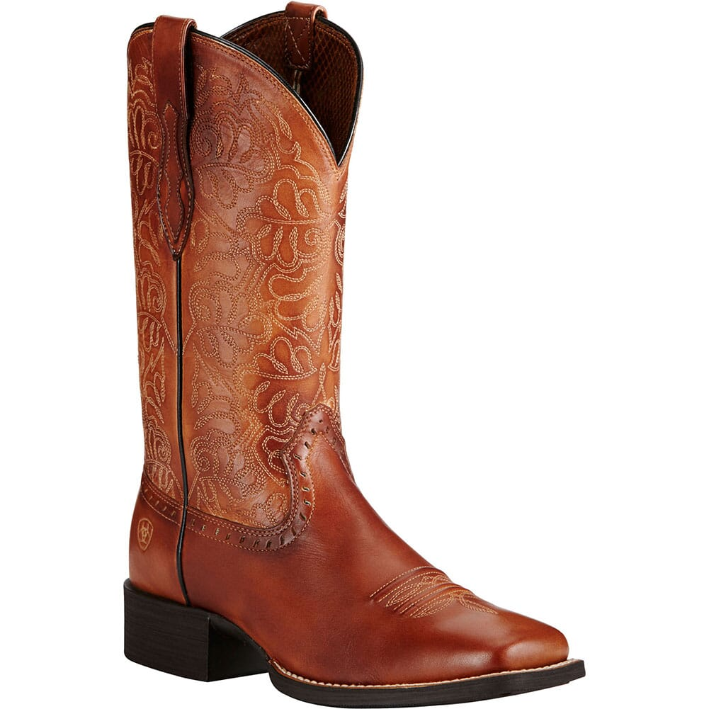 Image for Ariat Women's Round Up Remuda Western Boots - Naturally Rich from elliottsboots