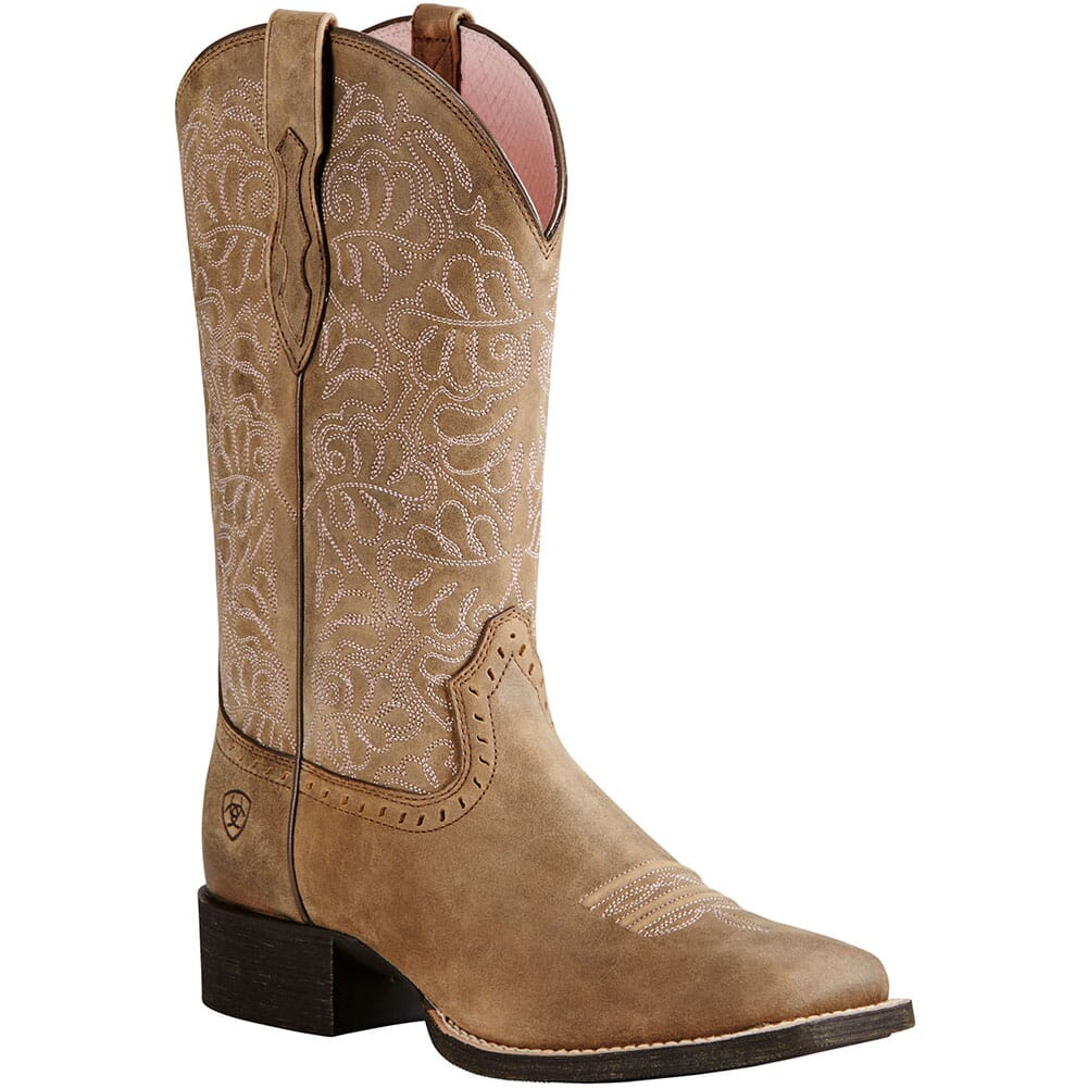 Image for Ariat Women's Round Up Remuda Western Boots - Brown Bomber from elliottsboots