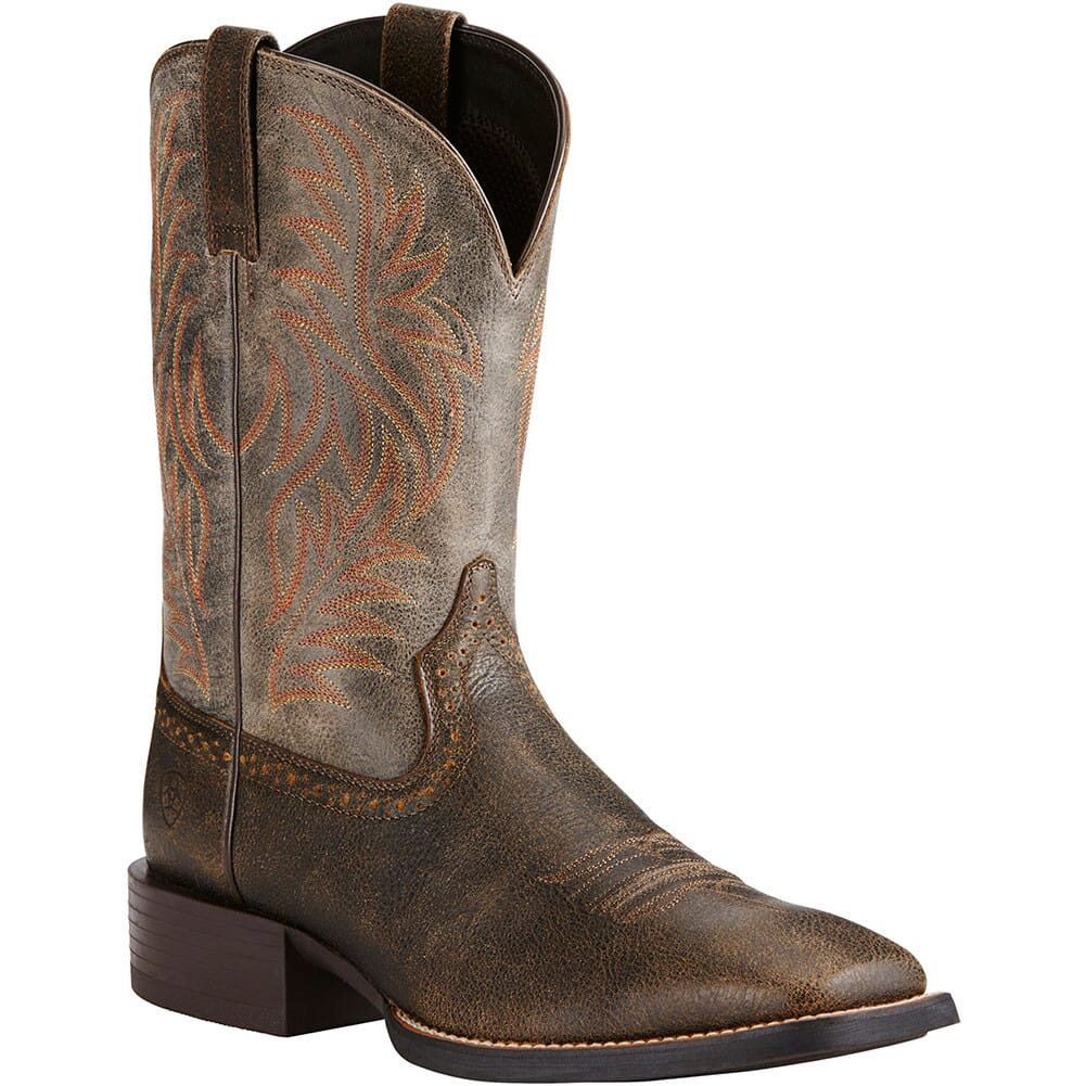 Image for Ariat Men's Sport Western Boots - Brooklyn Brown from bootbay