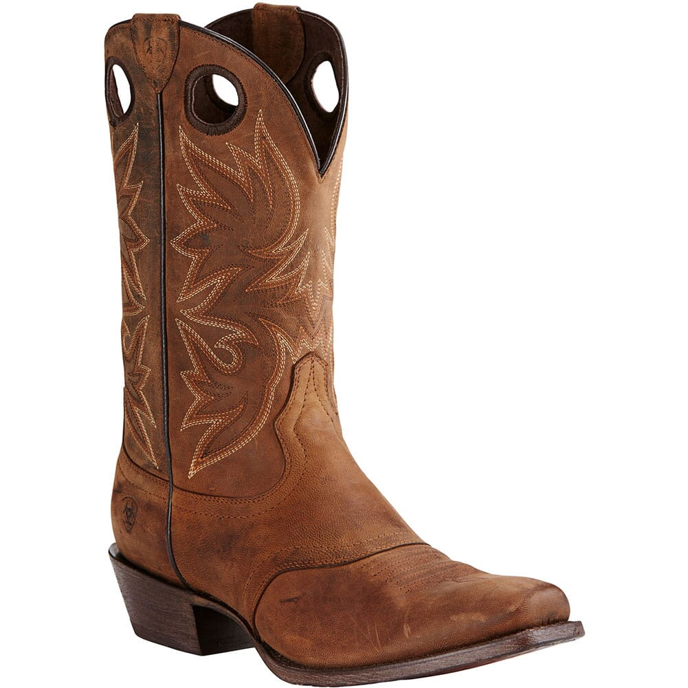 Image for Ariat Men's Circuit Striker Western Boots - Weathered Brown from bootbay