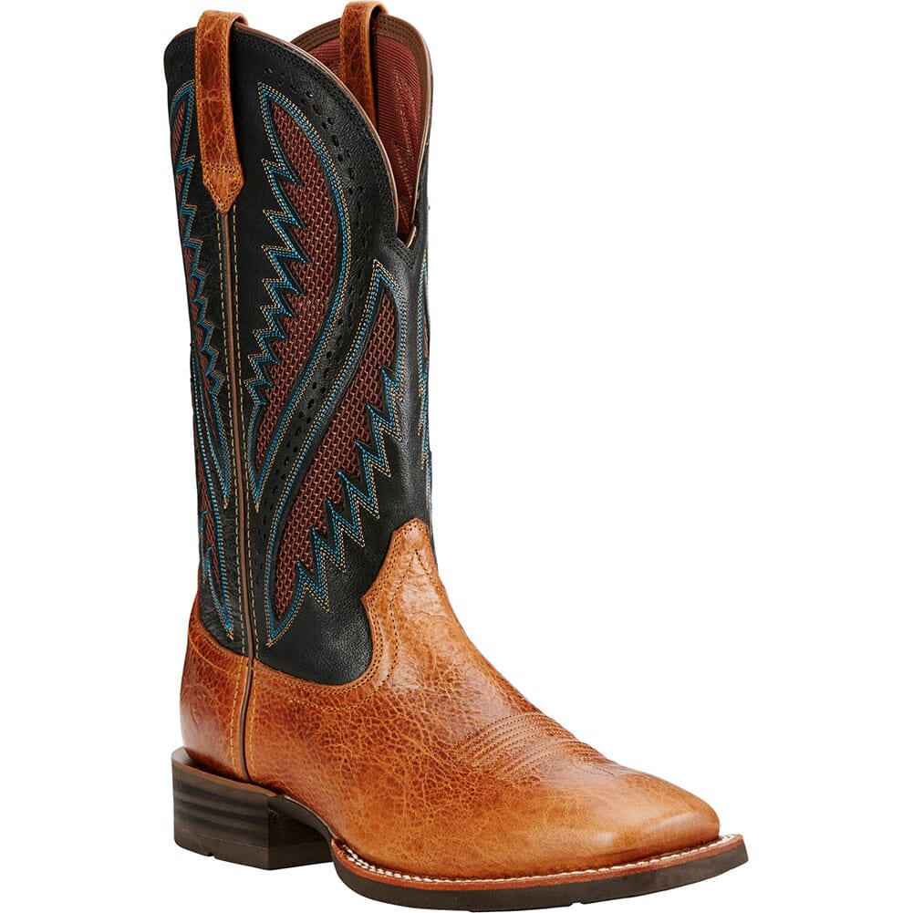 Image for Ariat Men's Quickdraw VentTEK Western Boots - Gingersnap from bootbay