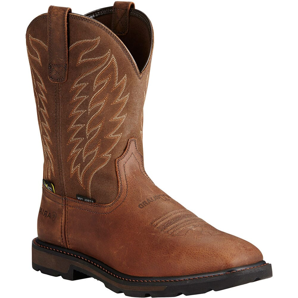 Image for Ariat Men's Groundbreaker Metguard Safety Boots - Brown from bootbay