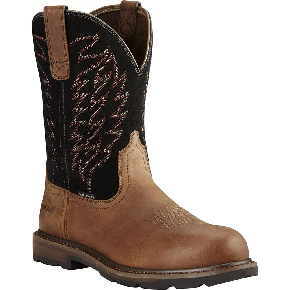 Image for Ariat Men's Groundbreaker Safety Boots - Brown/Black from bootbay
