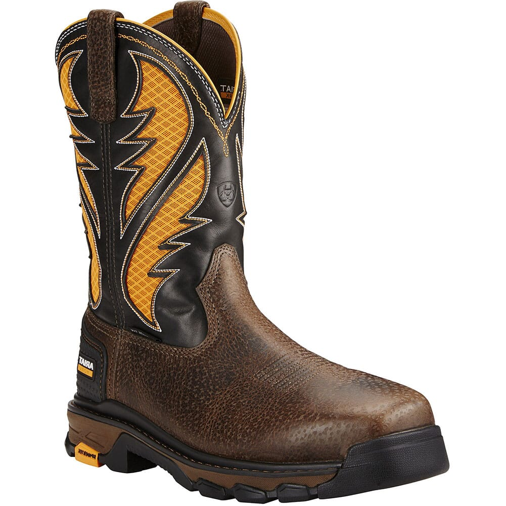 Image for Ariat Men's Intrepid VentTek Safety Boots - Cocoa Brown from bootbay