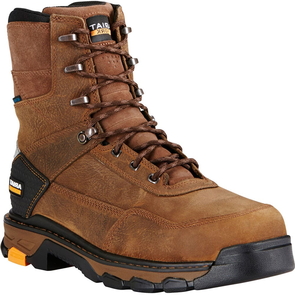Image for Ariat Men's Intrepid H2O Safety Boots - Rye Brown from bootbay