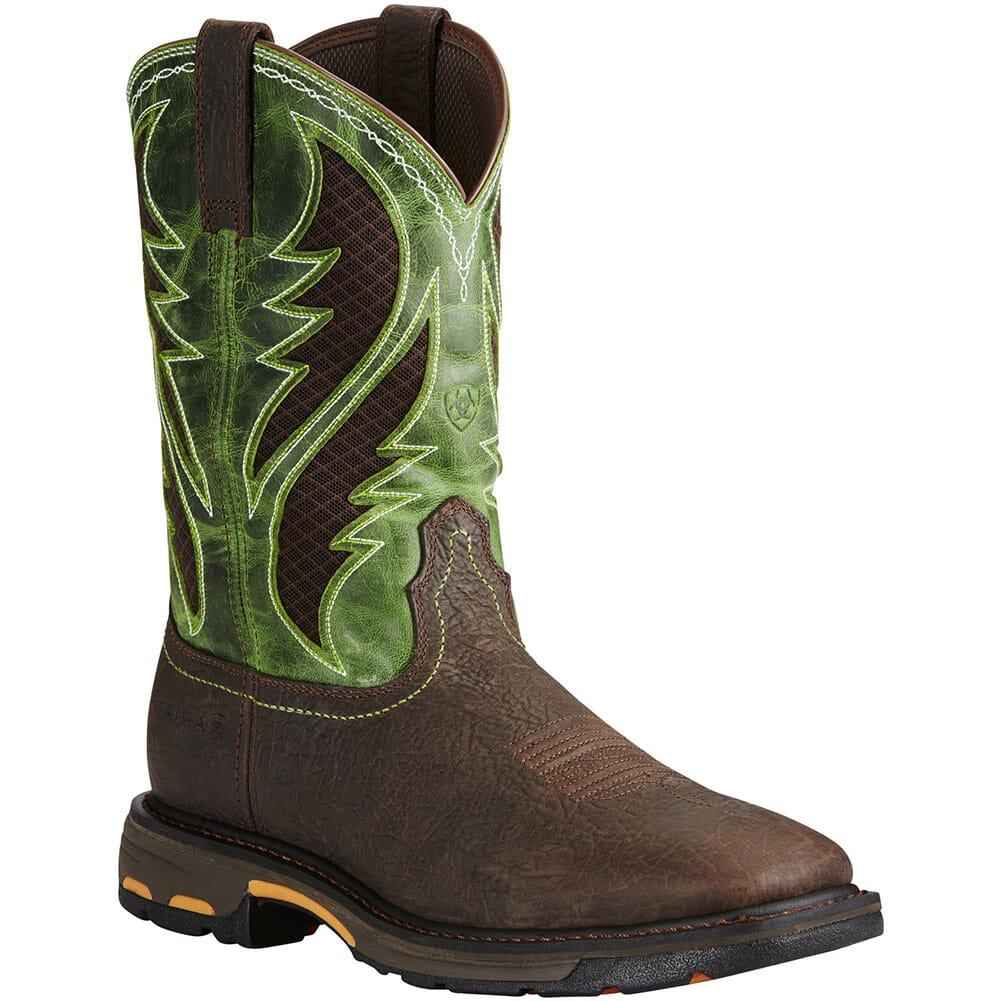 Image for Ariat Men's Workhog VentTek Safety Boots - Bruin Brown from bootbay