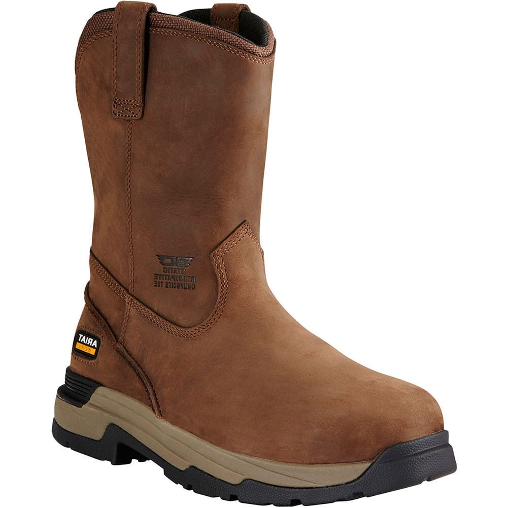 Image for Ariat Men's Mastergrip Safety Boots - Brown from bootbay