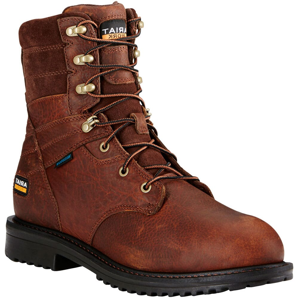 Image for Ariat Men's Rigtek H2O Safety Boots - Oiled Brown from bootbay
