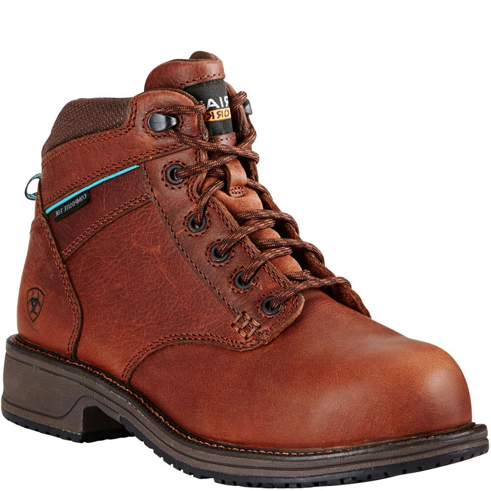 Image for Ariat Women's Lacer SD Safety Boots - Nutty Brown from elliottsboots
