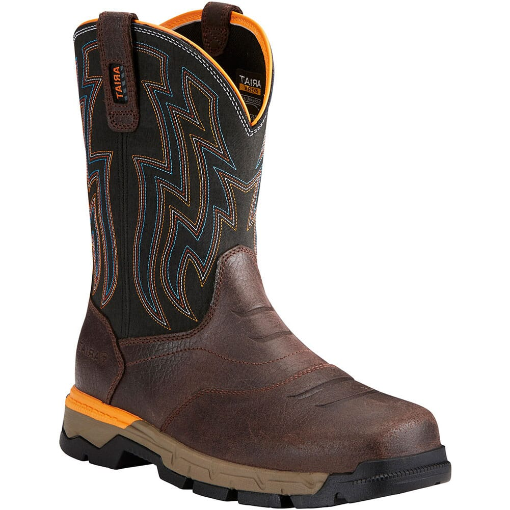 Image for Ariat Men's Rebar Flex Safety Boots - Chocolate Brown from bootbay