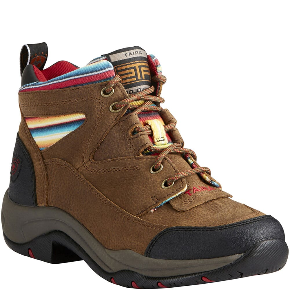 Image for Ariat Women's Terrain Hiking Boots - Walnut/Serape from bootbay