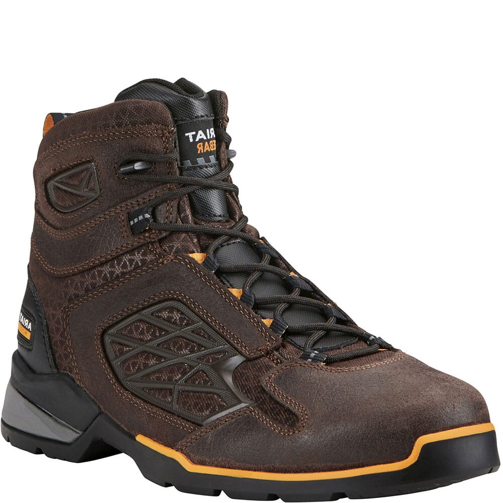 Image for Ariat Men's Rebar Flex Work Boots - Brown from bootbay