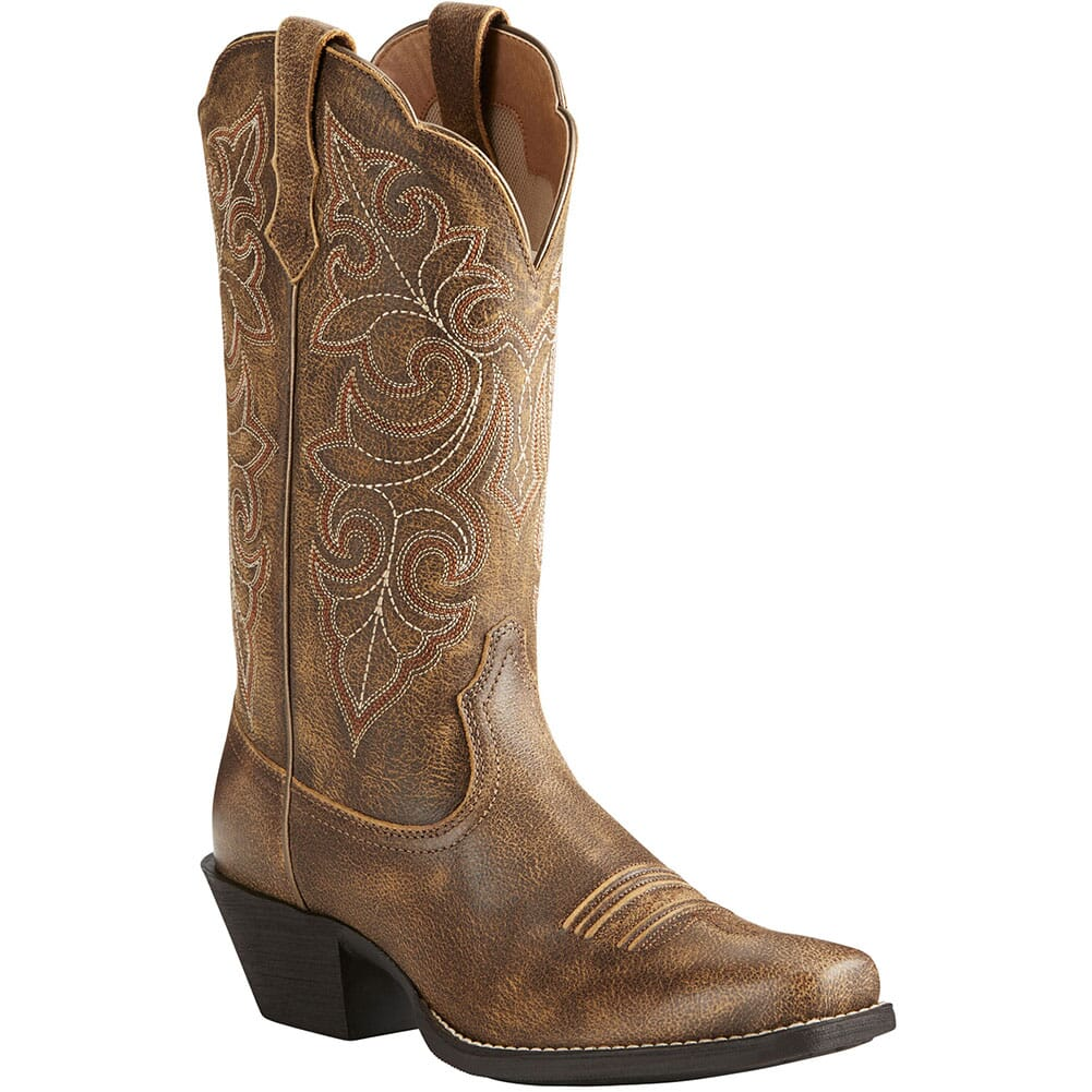 Image for Ariat Women's Round Up Western Boots - Vintage Bomber from bootbay