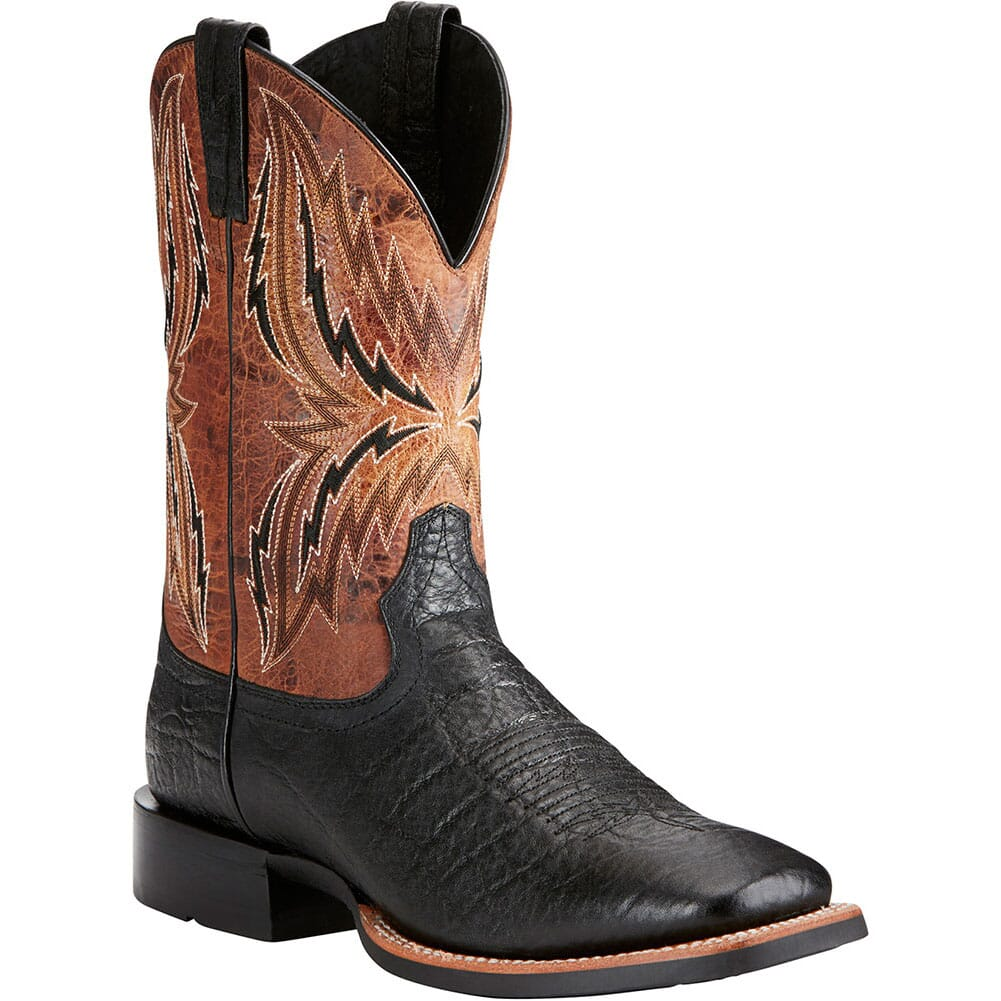 Image for Ariat Men's Arena Rebound Western Boots - Black from bootbay