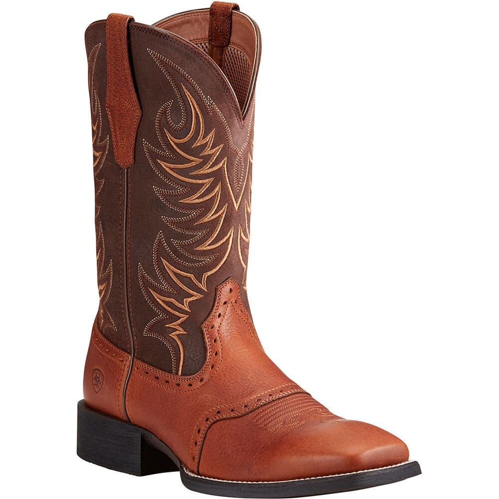 Image for Ariat Men's Sport Sidewinder Western Boots - Golden Grizzly from bootbay
