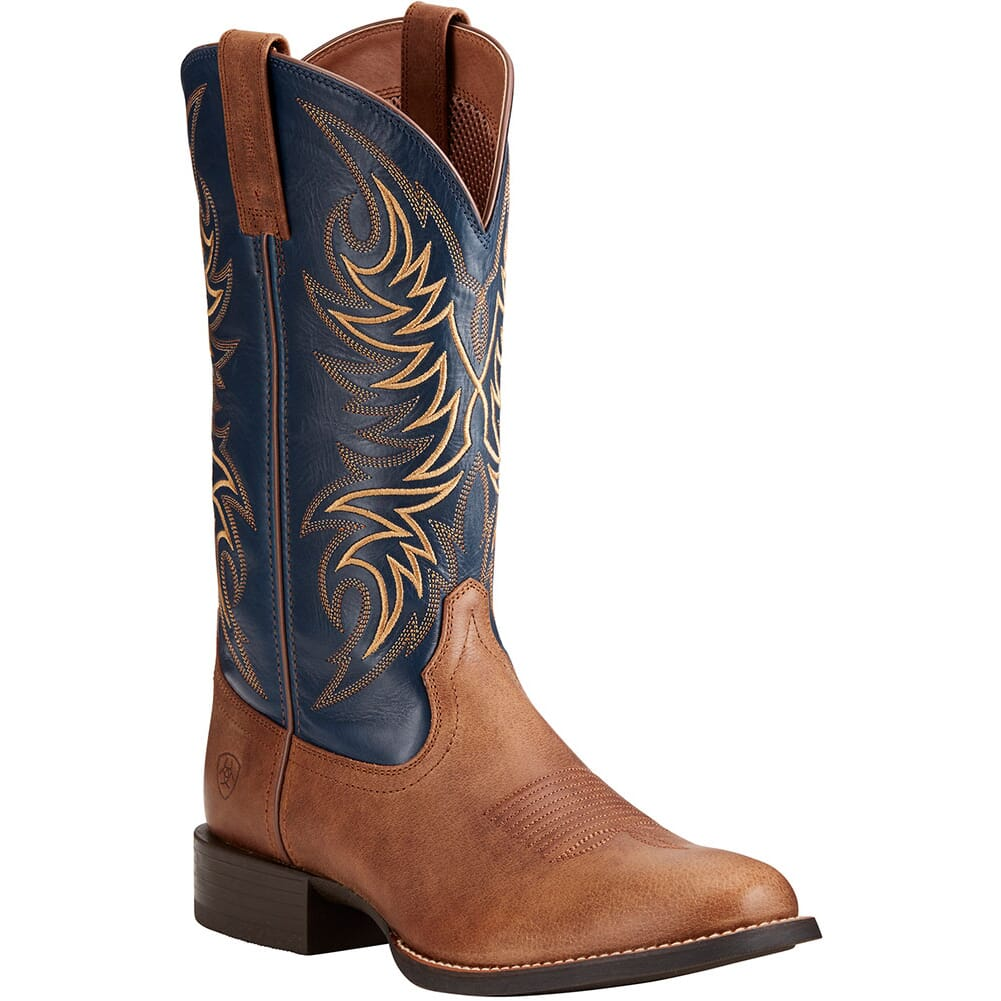 Image for Ariat Men's Sport Horseman Western Boots - Sandstorm from bootbay