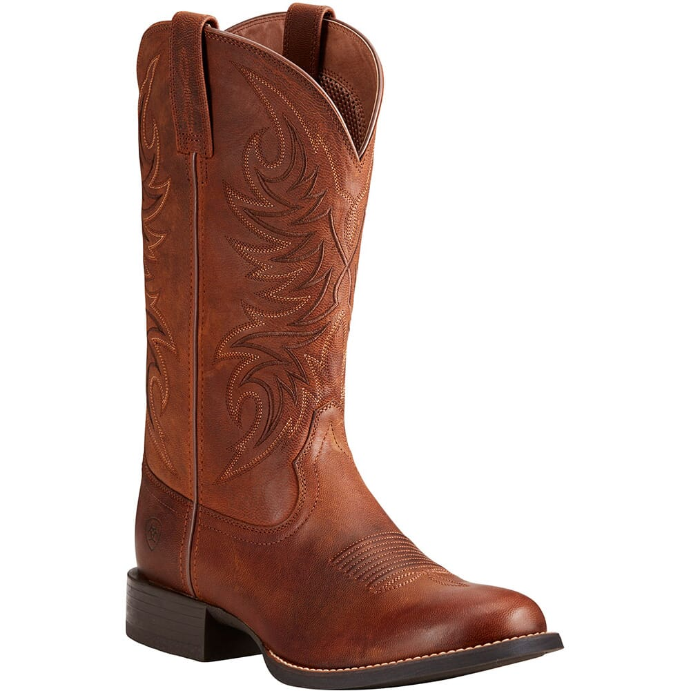 Image for Ariat Men's Sport Horseman Western Boots - Rafter Tan from bootbay