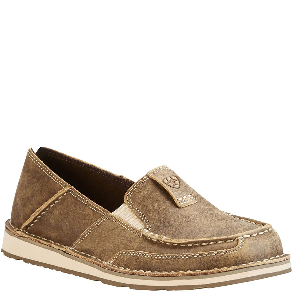 Image for Ariat Women's Cruiser Casual Shoes - Brown Bomber from bootbay
