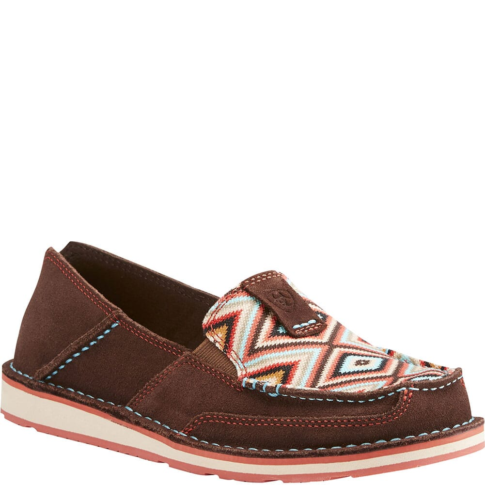 Image for Ariat Women's Cruiser Casual Shoes - Coffee Bean from bootbay