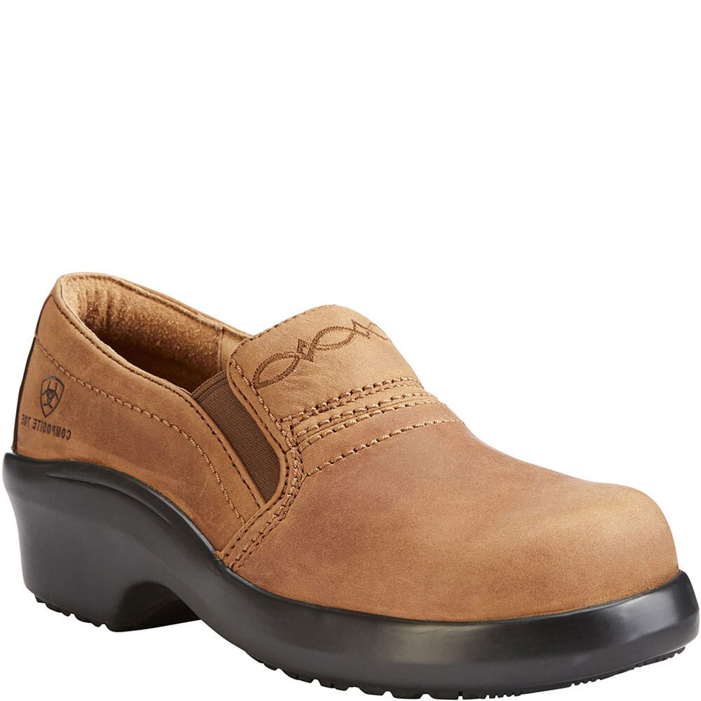 Image for Ariat Women's Expert SD Safety Clogs - Brown from bootbay